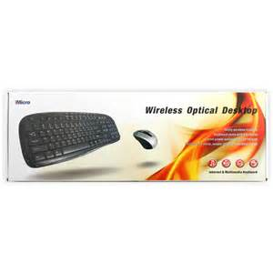IMicro wireless keyboard & mouse combo